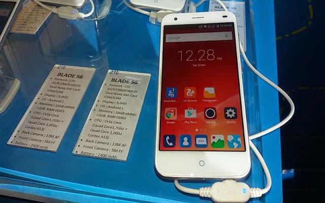 Desain ZTE Blade S6 Contek iPhone 6