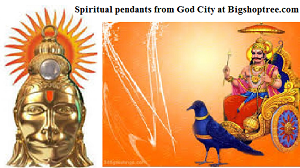god blessing in pendants and yantras