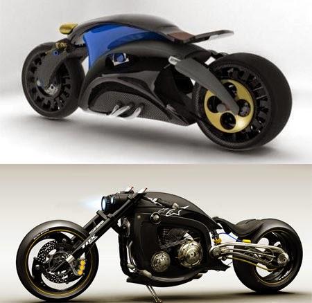 Ilustrasi Motor Drag