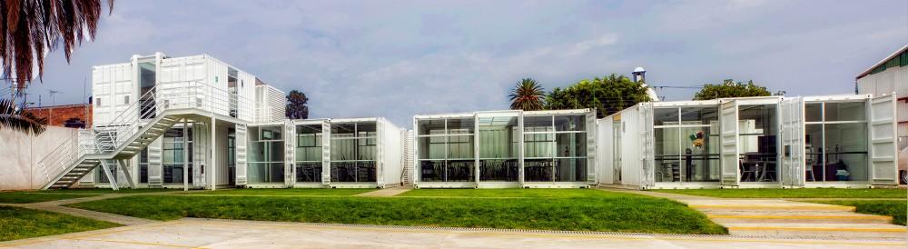 Casas ecologicas casas ecologicas escuela hecha con contenedores marinos en mexico - Casas en contenedores marinos ...