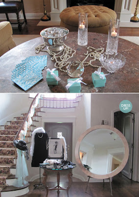 Breakfast at Tiffany bridal shower decor