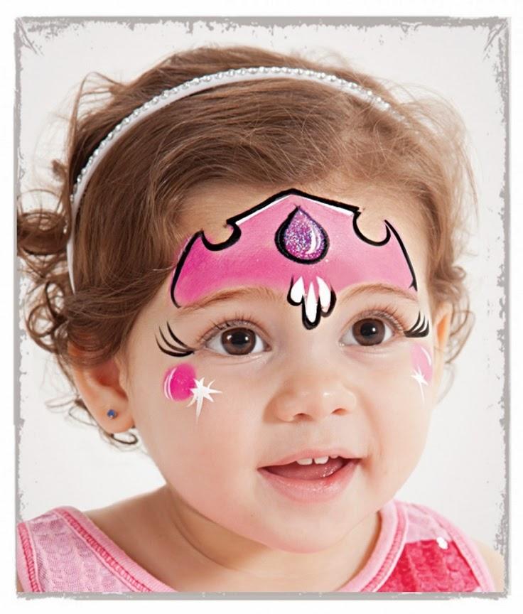 Pintar la cara princesa