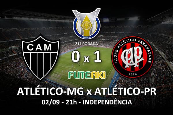 Veja o resumo da partida com o gol e os melhores momentos de Atlético-MG 0x1 Atlético-PR pela 22ª rodada do Brasileirão 2015.