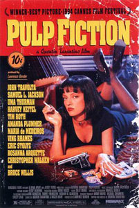 Poster original de Pulp Fiction