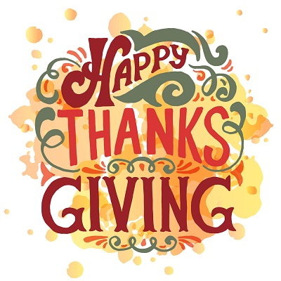Happy Thanksgiving Images Clipart 2018