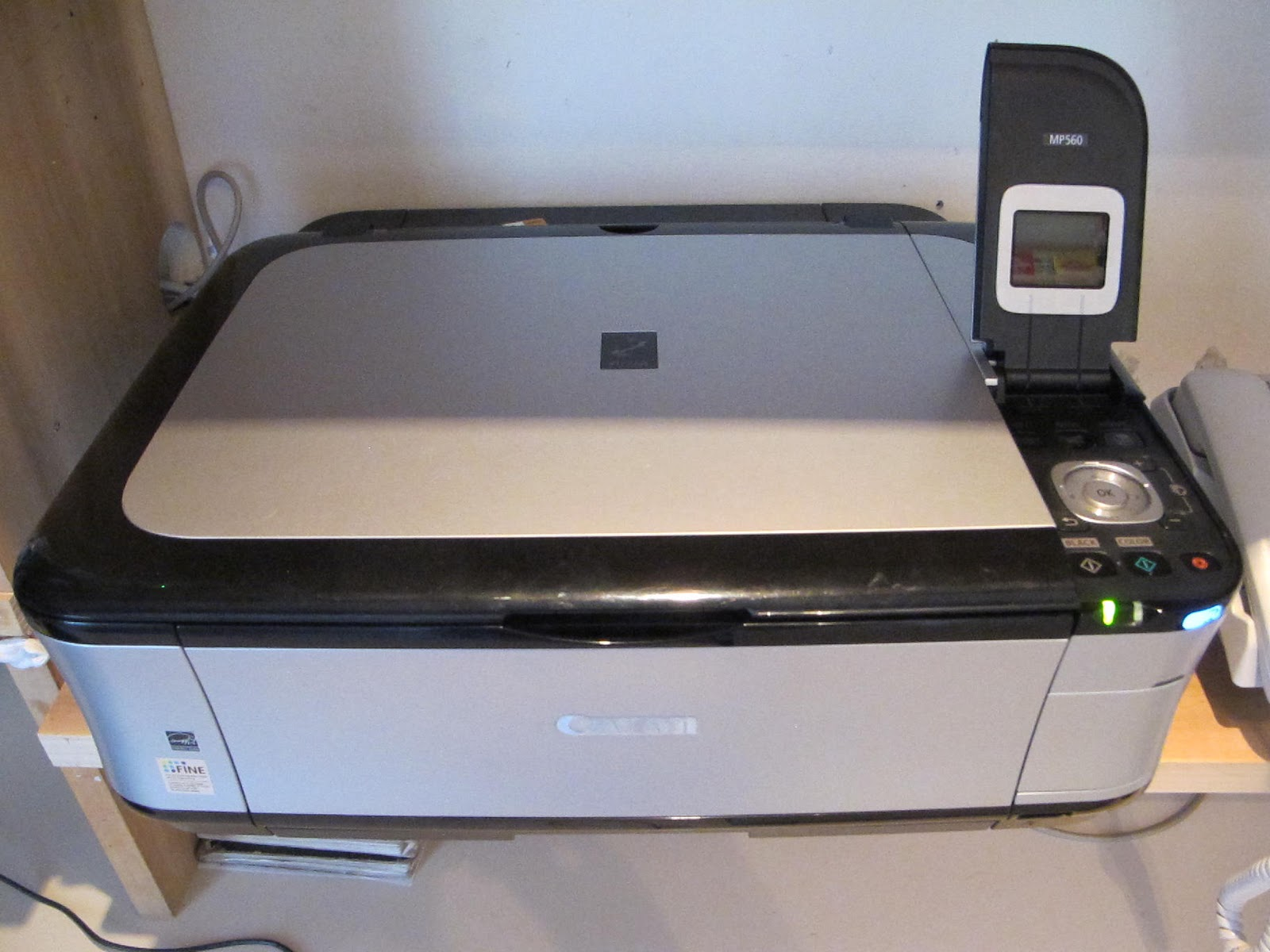 Canon Mp560 Scanner Driver