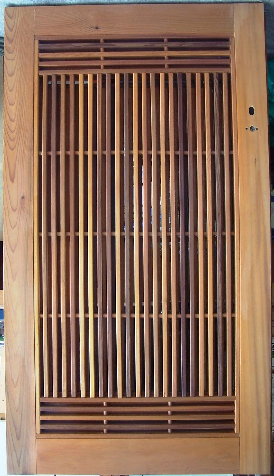 Bamboo Wood Door : Bamboo grove photo doors