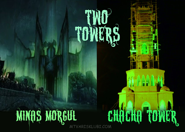 MINAS MORGUL IN BATUMI - TWO TOWERS