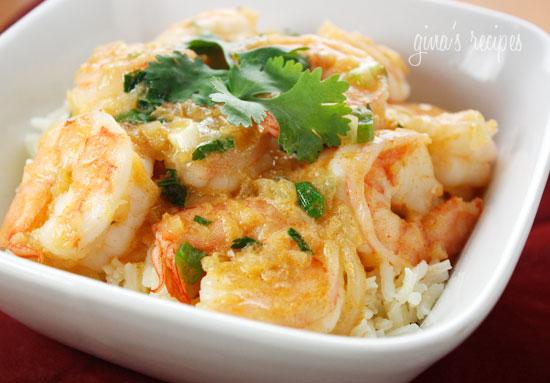 Yummy Coconut Curry Shrimp Recipe