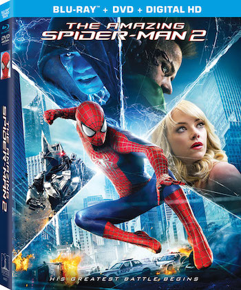 The Amazing Spider Man 2 (2014) Dual Audio Hindi Movie Download