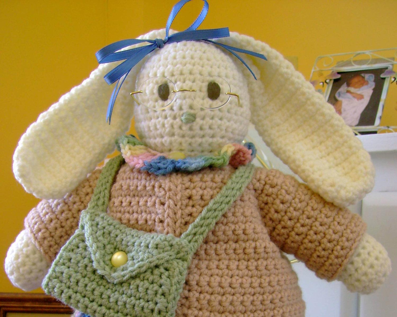 Gomitoli magici idee per la pasqua coniglietti ad uncinetto for Idee uncinetto