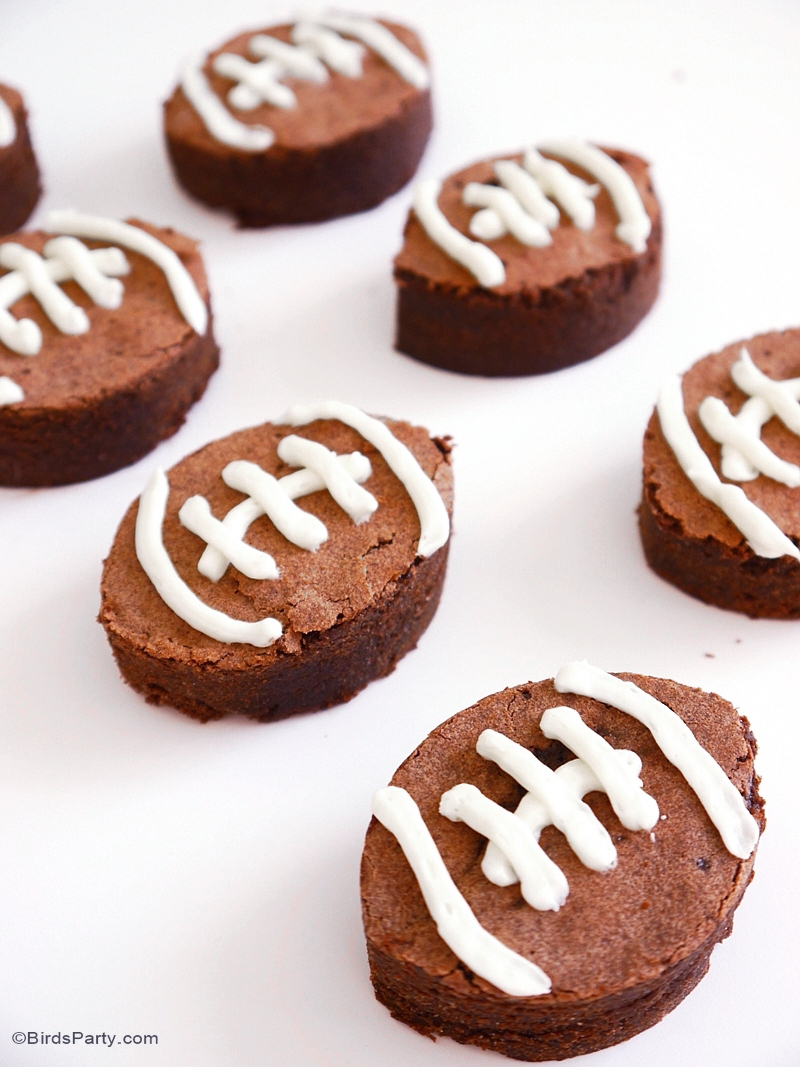 Recette American Brownies au Chocolat - BirdsParty.fr