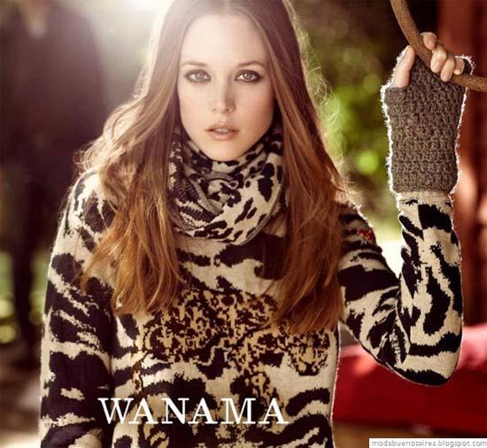 Vestidos de invierno wanama