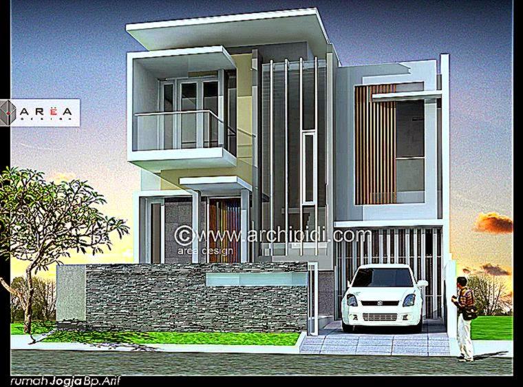 Denah dan Gambar Rumah Modern Minimalis   Desain dan Tips Rumah
