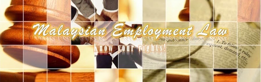 Malaysian Labor Law - Know Your Right