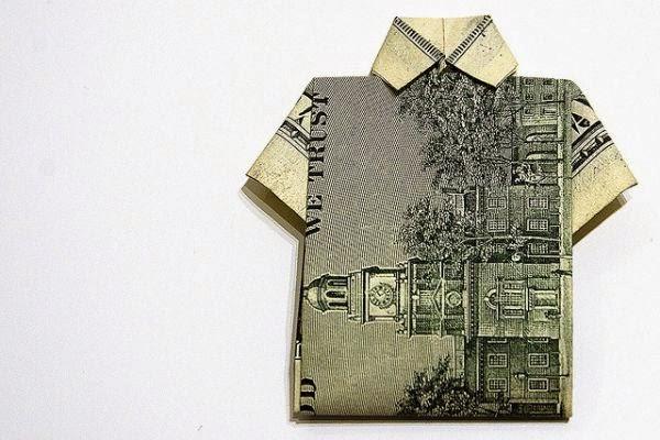 origami t shirt