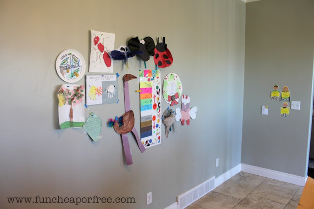 Easy DIY Bulletin Boards! One of our best hacks for saving you time and money to make your life easier! www.FunCheapOrFree.com