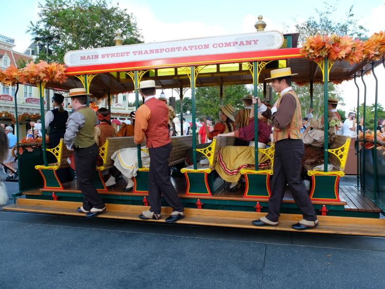 Walt Disney World, Magic Kingdom, Trolley Show