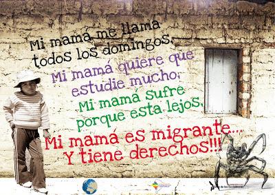 niño, migrante