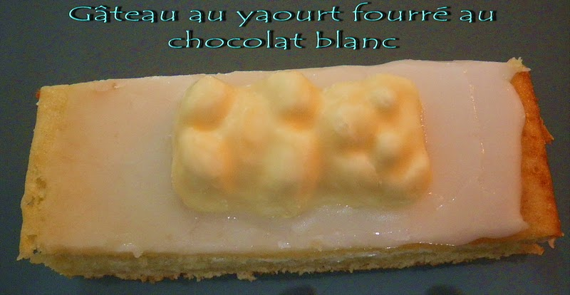 Gateau Gaga Love Cakes Gateau Au Yaourt Fourre Au Chocolat Blanc