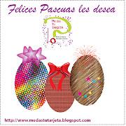 Felices Pascuas. Publicado por me das tu tarjeta en 12:02 pascuas