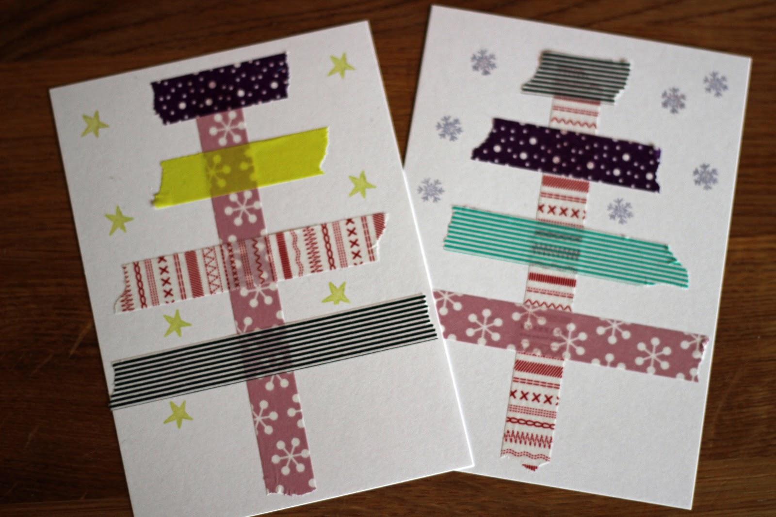 threekidsontheblog selbstgemachte auf den letzten dr cker weihnachtskarten. Black Bedroom Furniture Sets. Home Design Ideas