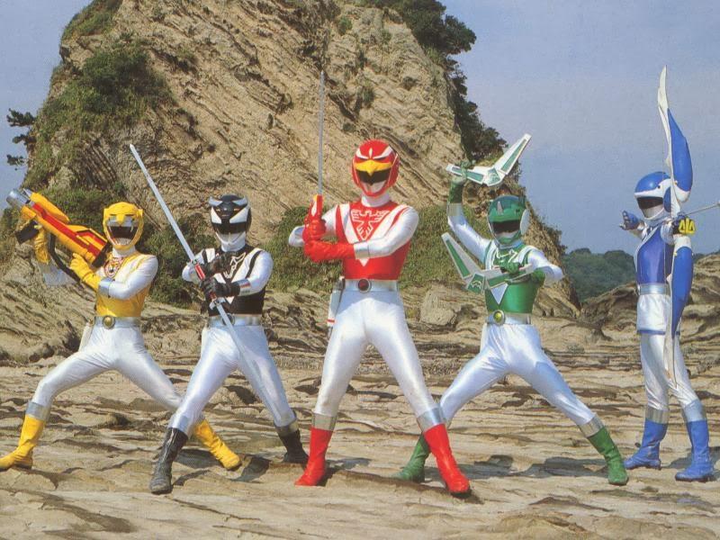 Năm Anh Em Siêu Nhân|| Choujuu Sentai Liveman