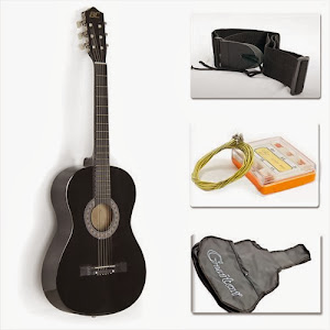 38 inch guitar beginner pack