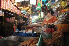Kunjungan di Pasar Tradisional