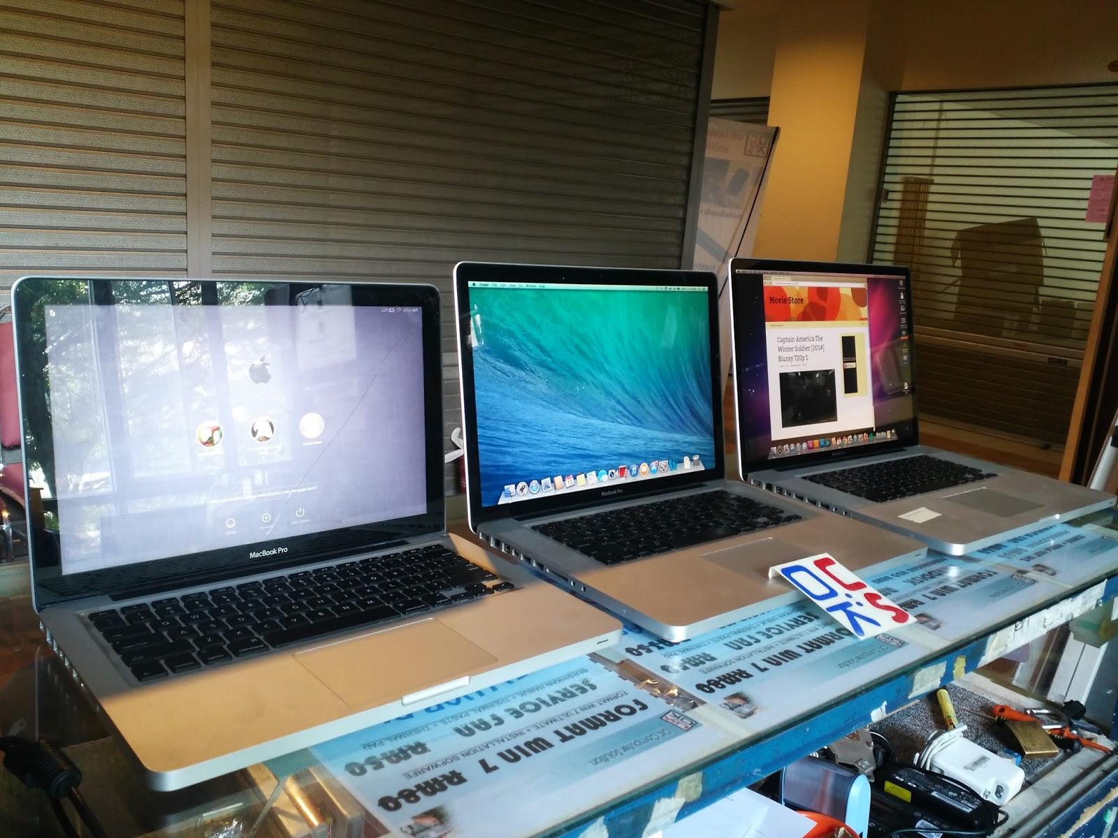 Untuk pen ahuan anda sistem operasi yang digunakan oleh Apple Macbook ini adalah tidak sama seperti apa yang sistem operasi Windows gunakan