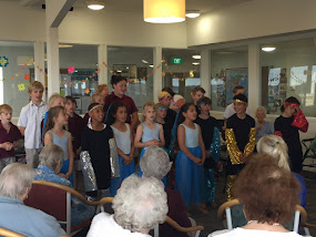 Students Performing at Amberlea Rest Home