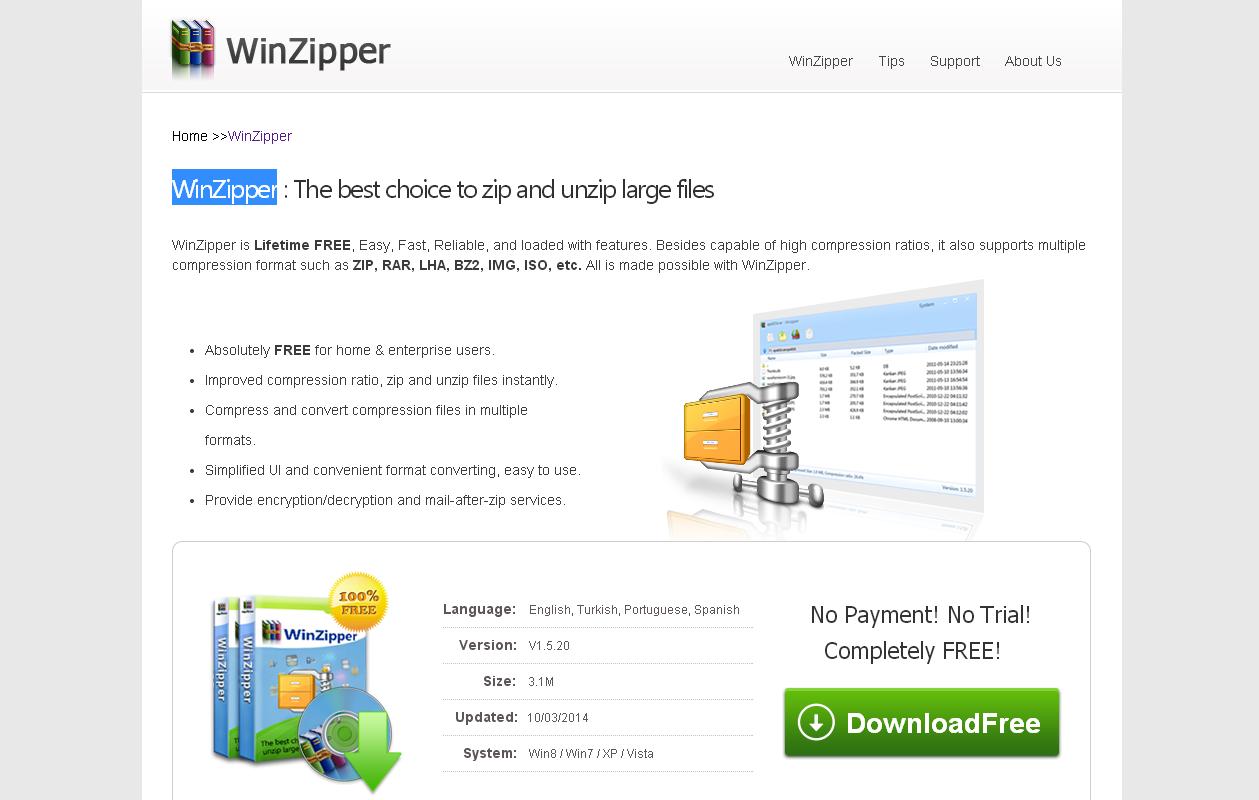 Winzipper