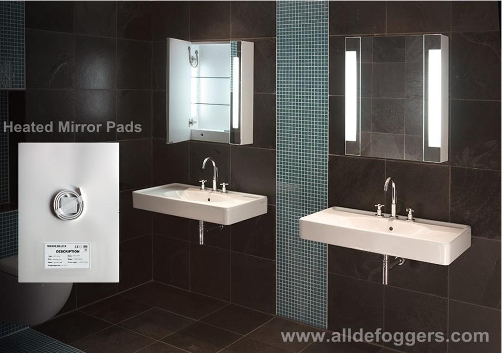 Nrg Bathroom Mirror Defogger Mirror Demister Heated Mirror