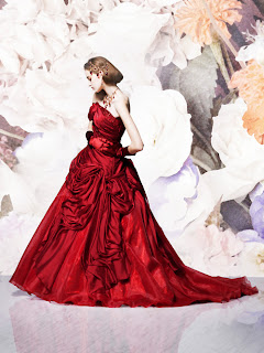 Cheap Wedding Dress on Exquisite Red Ball Gown Wedding Dresses By Tamaki Bridal   Opulence At