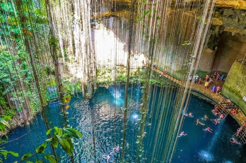 Cenotes Of The Yucat 225 N Peninsula In Mexico