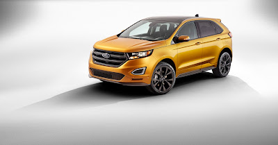 2015 Ford Edge Takes Home The Highest Government Safety Award