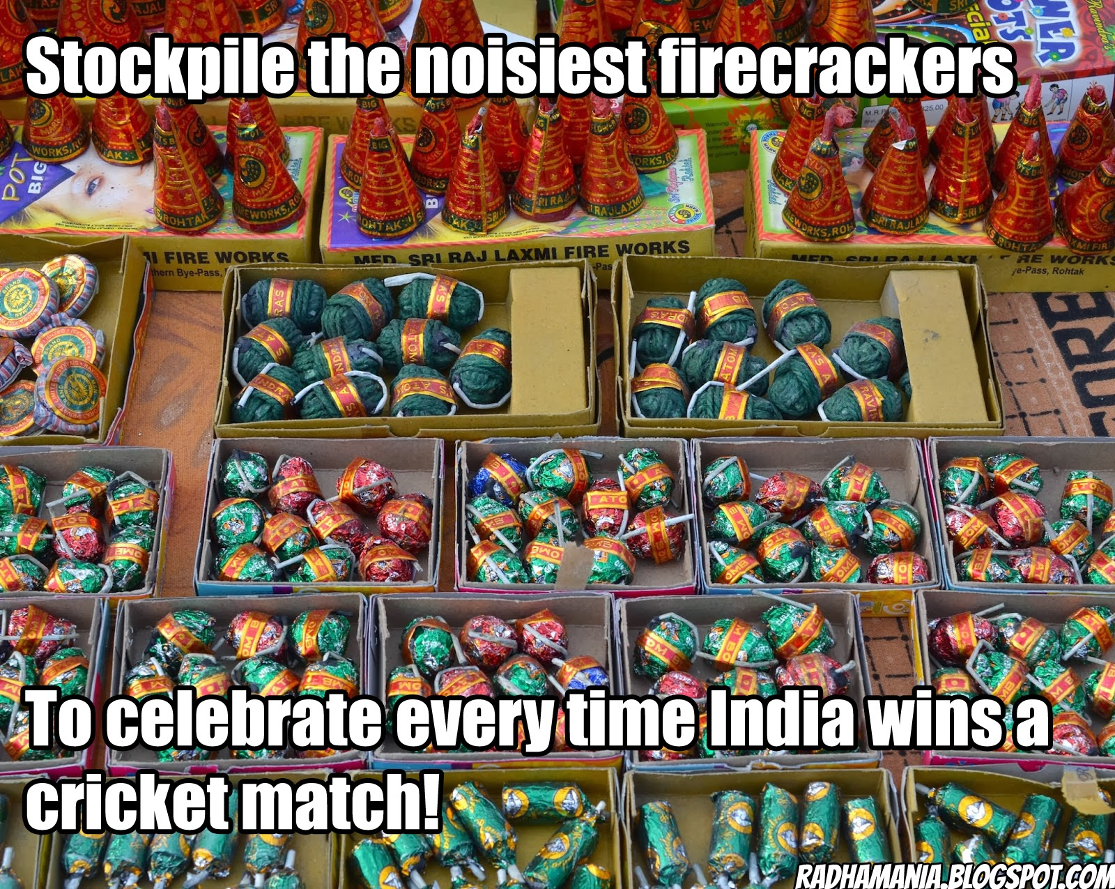 indian life hack firecracker noise celebration