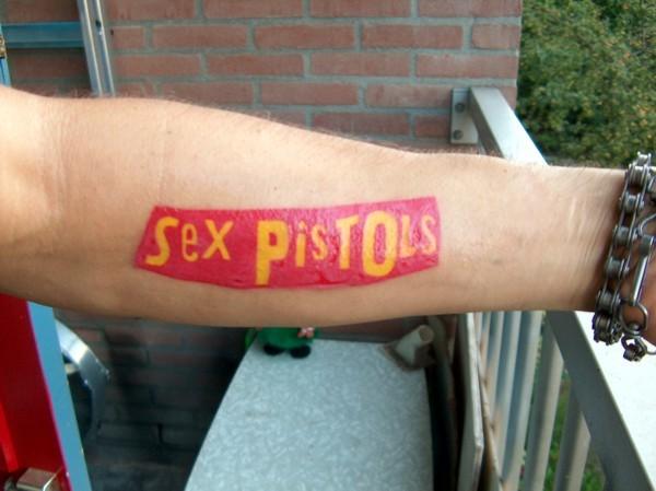 all celebrities tattoos sex pistols tattoos. Black Bedroom Furniture Sets. Home Design Ideas