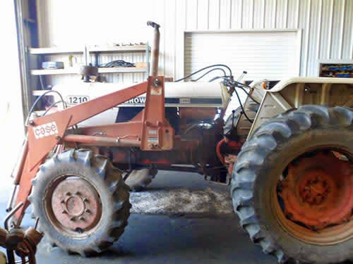 david brown tractor salvage 1210