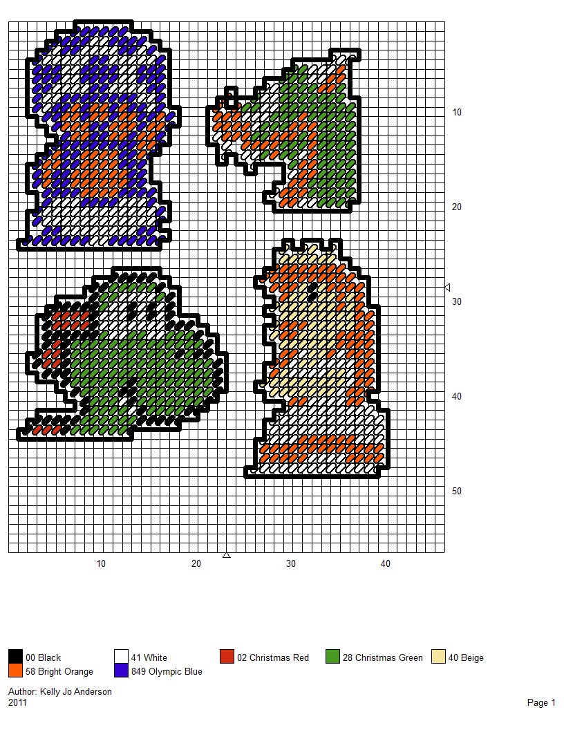 It is a picture of Insane Printable Plastic Canvas Patterns