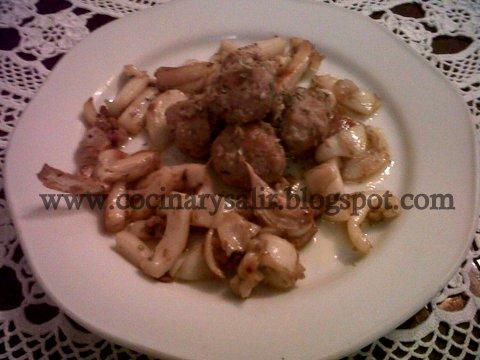 Cocinar Y Salir Alb Ndigas Con Sepia