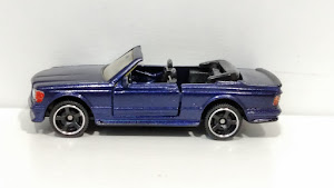 Custom Matchbox Mercedes 500 SEC Cabrio