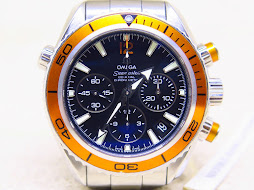 OMEGA SEAMASTER CO-AXIAL CHRONOMETER CHRONOGRAPH 36mm ORANGE BEZEL - OMEGA PLANET OCEAN CHRONOGRAPH