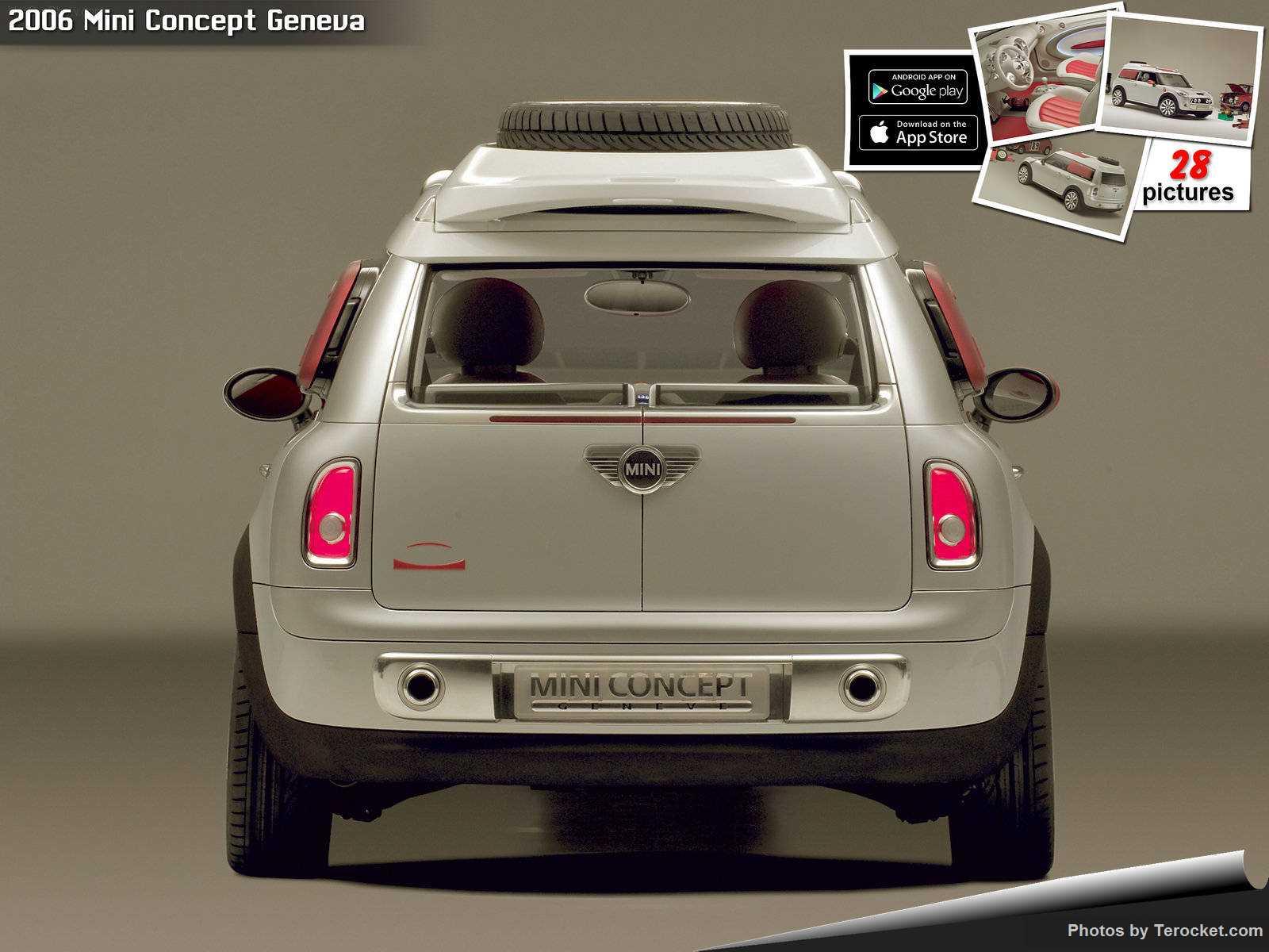 Hình ảnh xe ô tô Mini Concept Geneva 2006 & nội ngoại thất