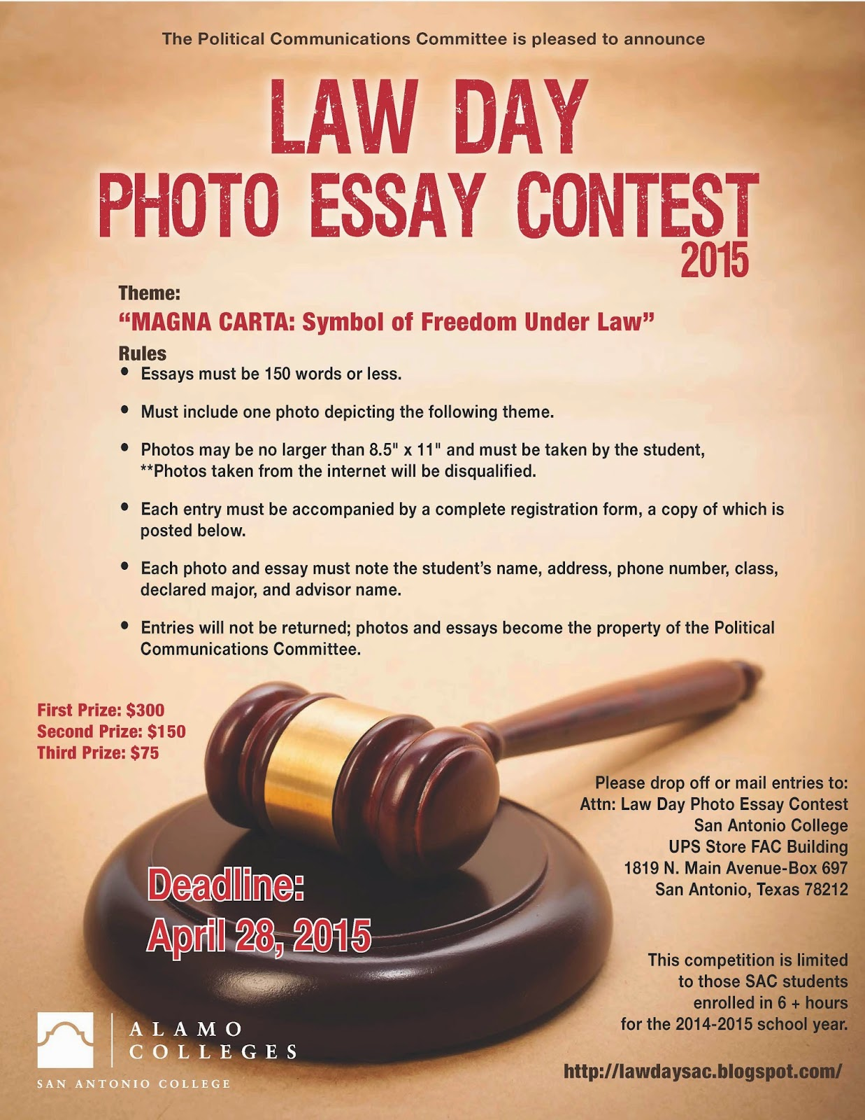 contest day essay law