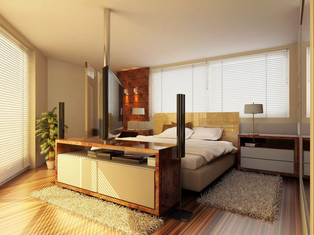 Kamar Tidur Interior Model Minimalis