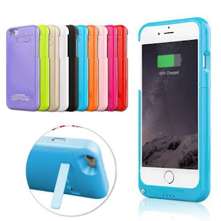 New Cover Case for iPhone 6 External Battery Backup Charging Bank 3200mAh