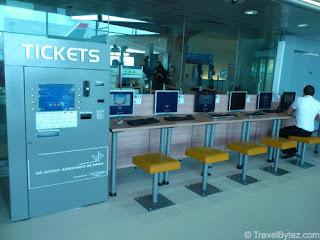 Charles de Gaulle Airport Terminal 1 Computer Terminals