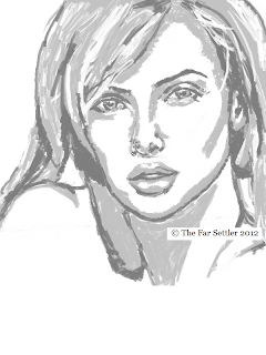 Charlize Theron Portrait