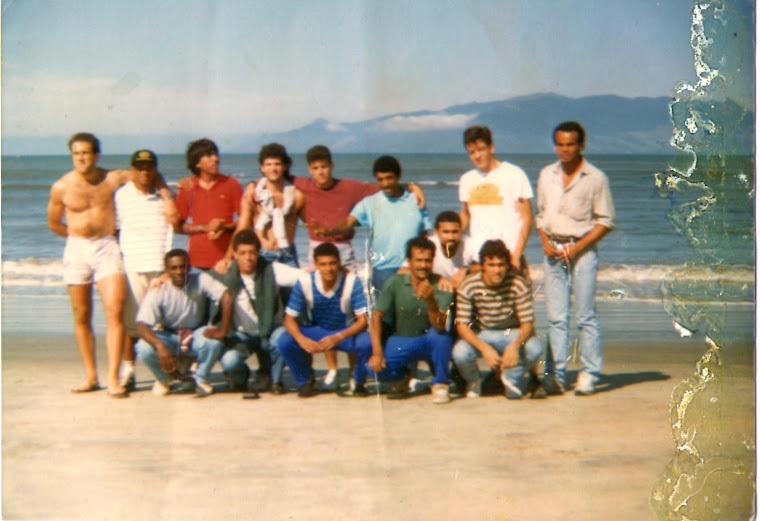 Equipe do Guapira em Caraguátatuba SP, terceira divisão do paulista